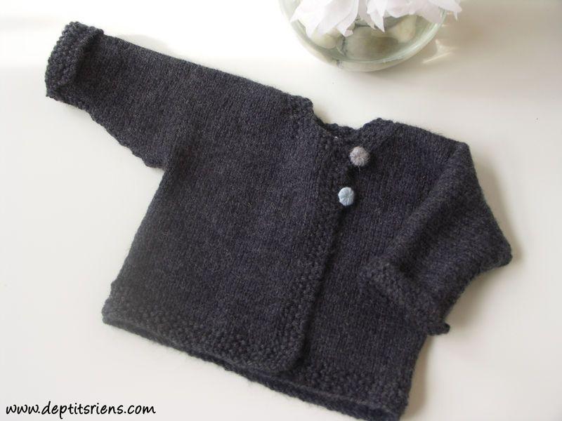 tuto tricot bebe 3 mois