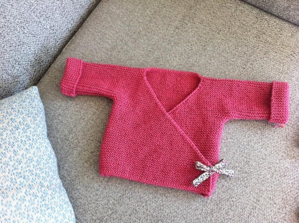 tuto tricot bebe