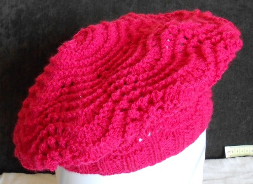 tuto tricot beret femme