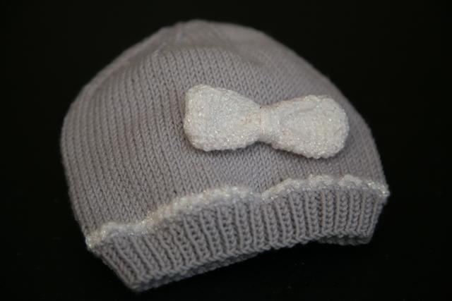 tuto tricot bonnet bebe 1 an