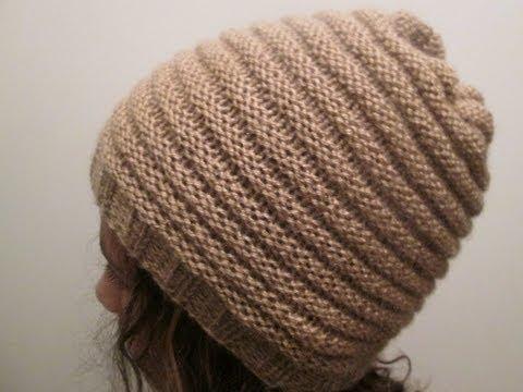 tuto tricot bonnet facile
