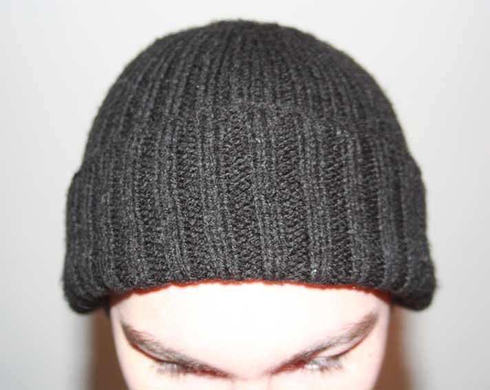 tuto tricot bonnet homme