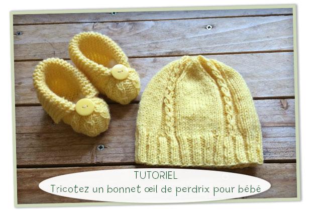 tuto tricot bonnet naissance