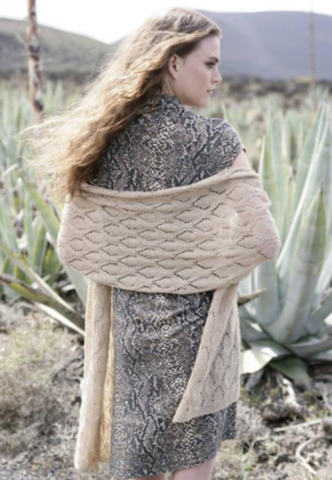 tuto tricot chale