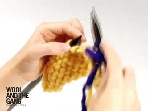 tuto tricot changement de pelote