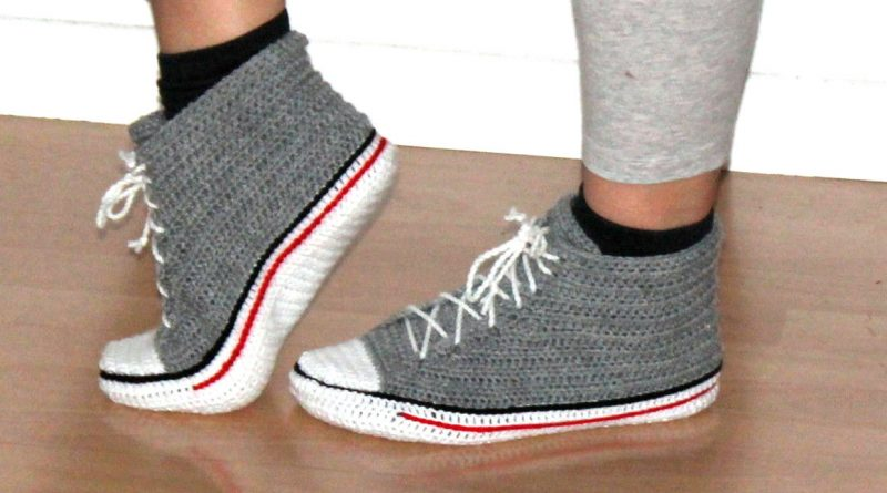 tuto tricot chausson adulte