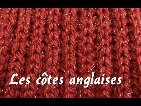 tuto tricot cote anglaise