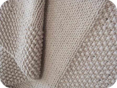 tuto tricot couverture