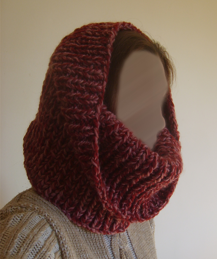 tuto tricot echarpe femme