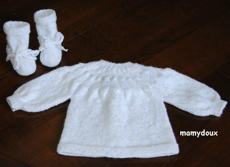 tuto tricot encolure ronde