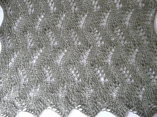 tuto tricot etole dentelle