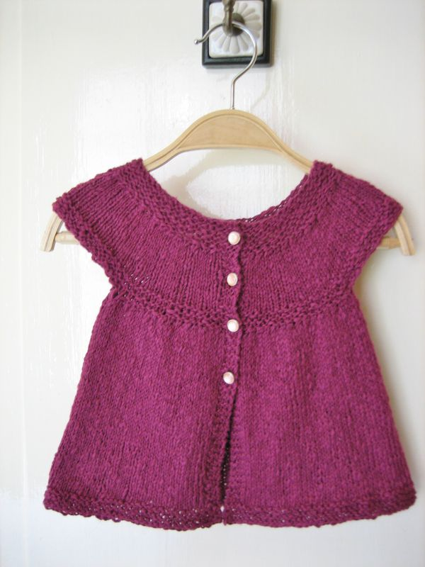 tuto tricot fille 3 ans