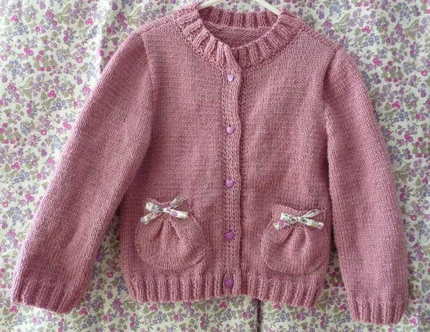 tuto tricot fille 5 ans