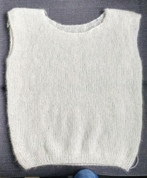 tuto tricot finir
