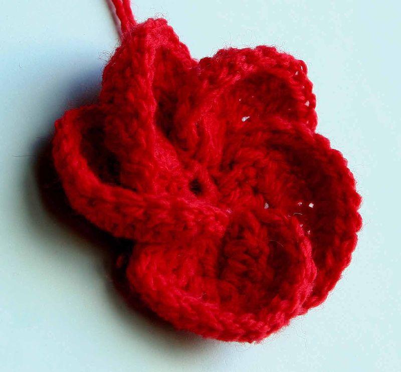 tuto tricot fleur