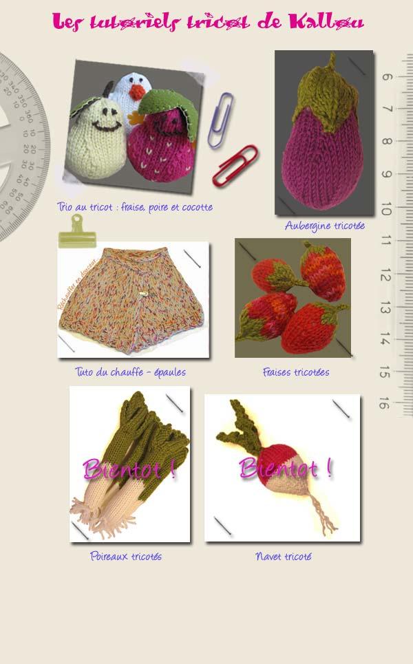 tuto tricot fruits et legumes