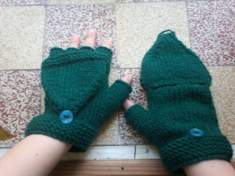 tuto tricot gants