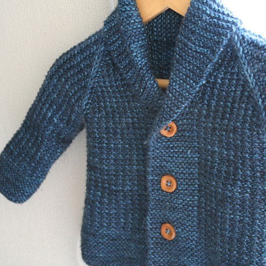 tuto tricot gilet 24 mois