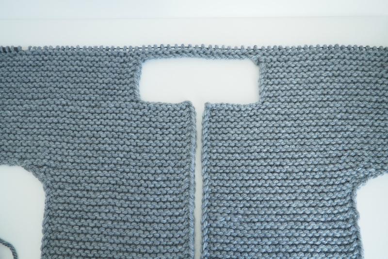 tuto tricot gilet 3 mois