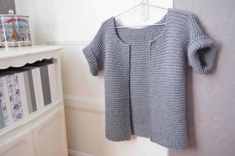 tuto tricot gilet 8 ans
