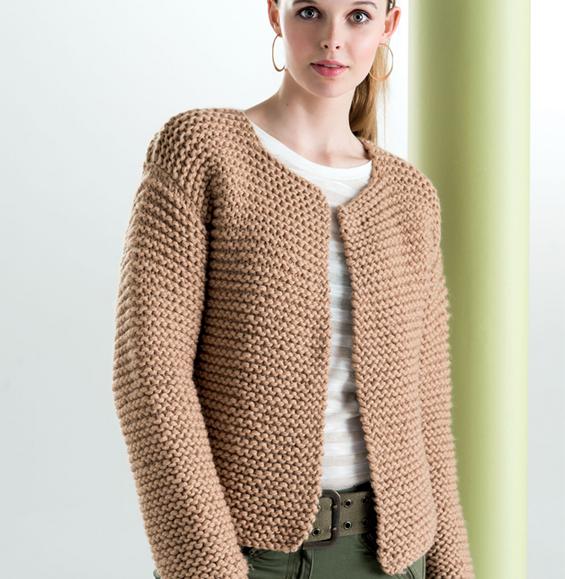 tuto tricot gilet femme aiguille 5