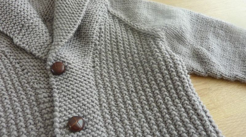 tuto tricot gilet fille 4 ans