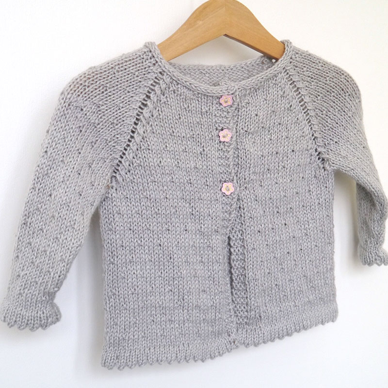 tuto tricot gilet fille