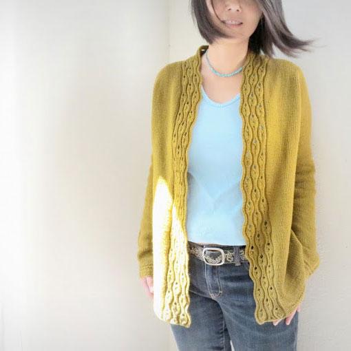 tuto tricot gilet long femme