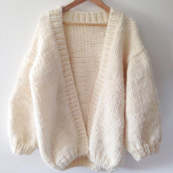 tuto tricot gilet oversize