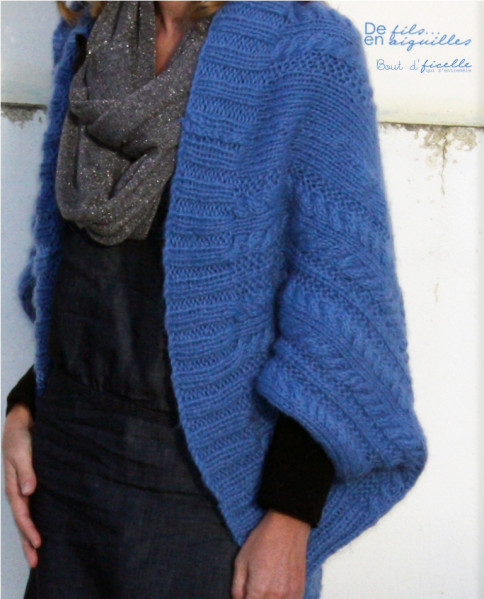 tuto tricot gilet rectangle