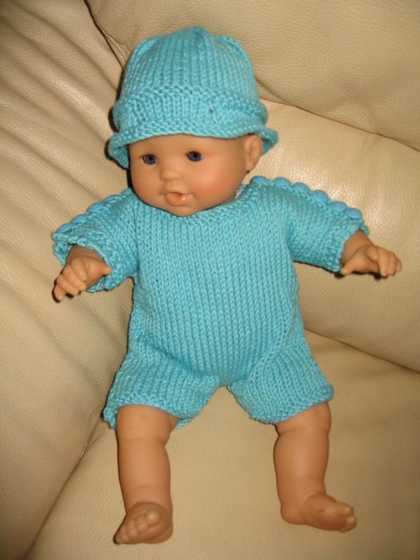 tuto tricot habit poupon