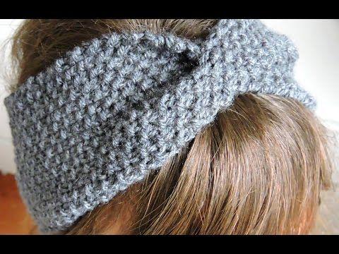 tuto tricot headband
