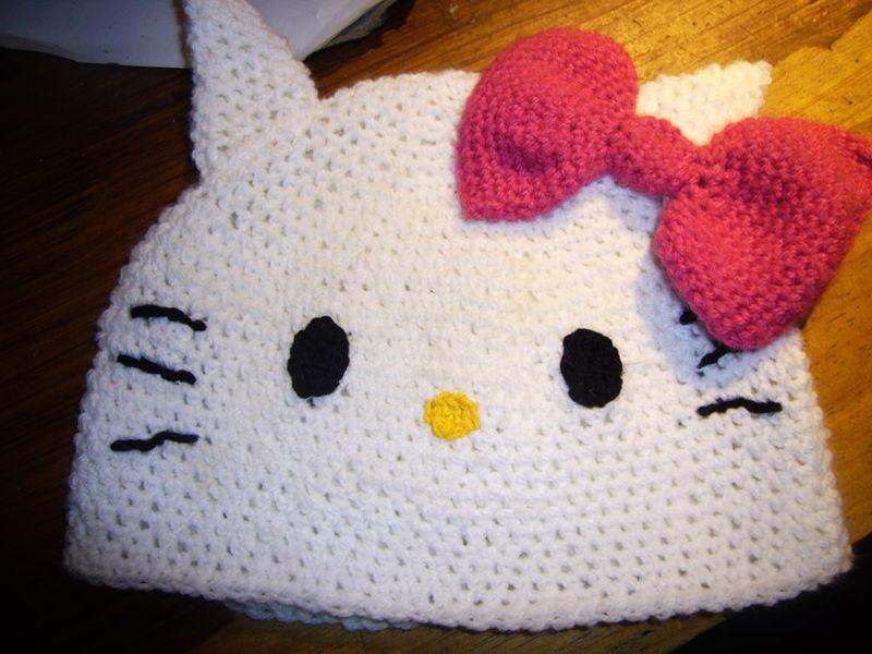 tuto tricot hello kitty gratuit