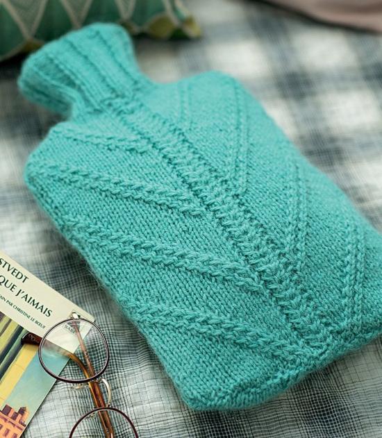 tuto tricot housse bouillotte