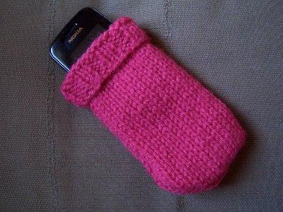 tuto tricot housse portable