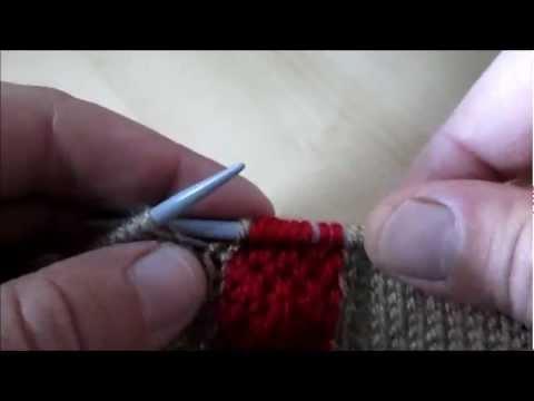 tuto tricot intarsia