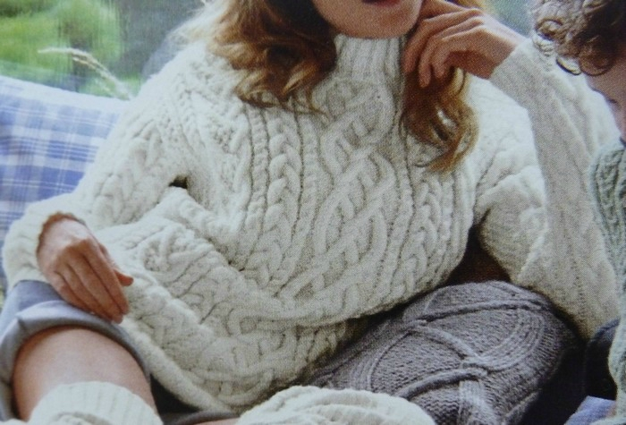 tuto tricot irlandais