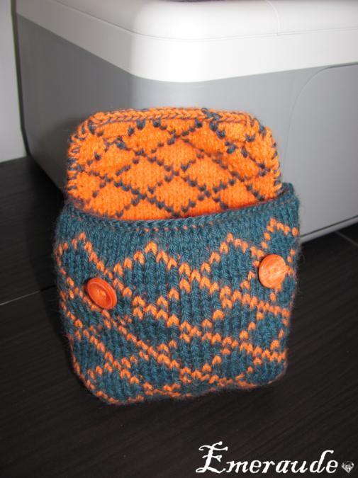 tuto tricot jacquard reversible