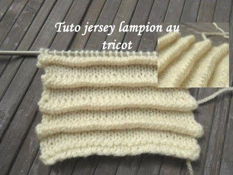 tuto tricot jersey