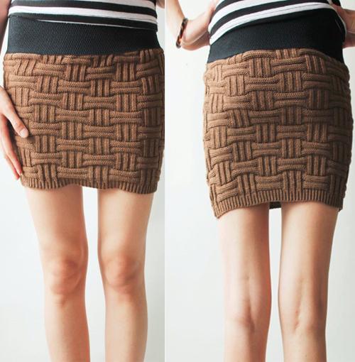 tuto tricot jupe femme