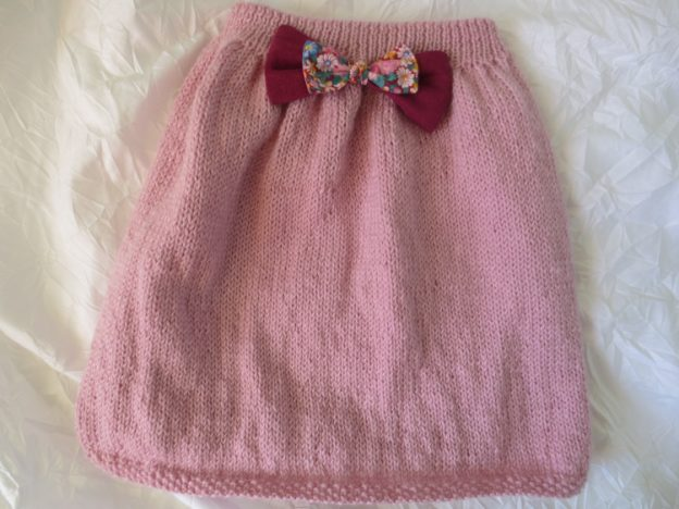 tuto tricot jupe fille