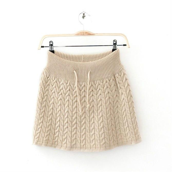 tuto tricot jupe