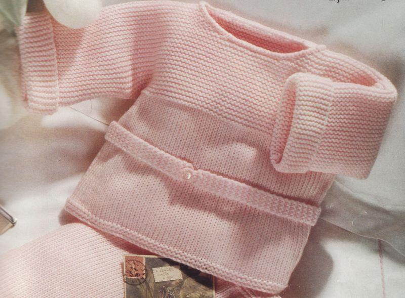tuto tricot layette facile gratuit