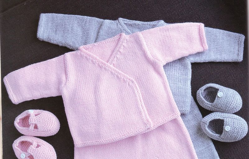 tuto tricot layette facile