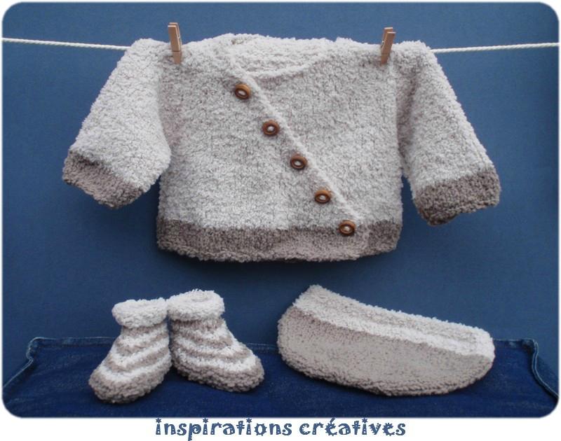tuto tricot layette naissance gratuit