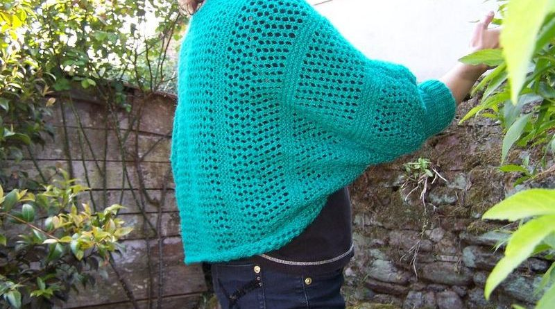 tuto tricot liseuse
