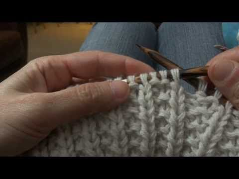 tuto tricot maille anglaise