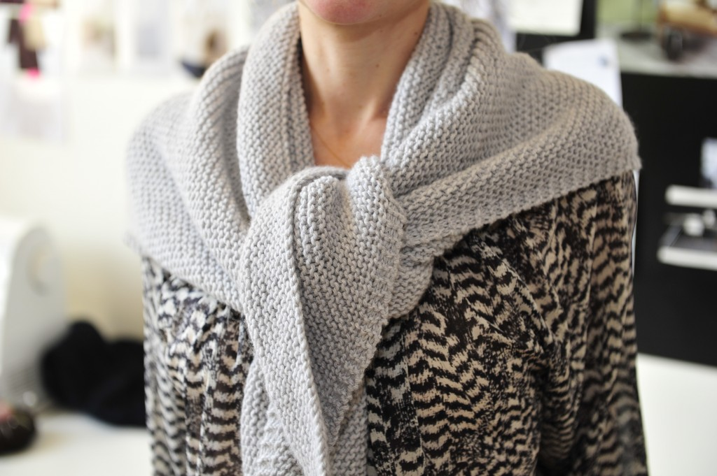tuto tricot maille lisiere