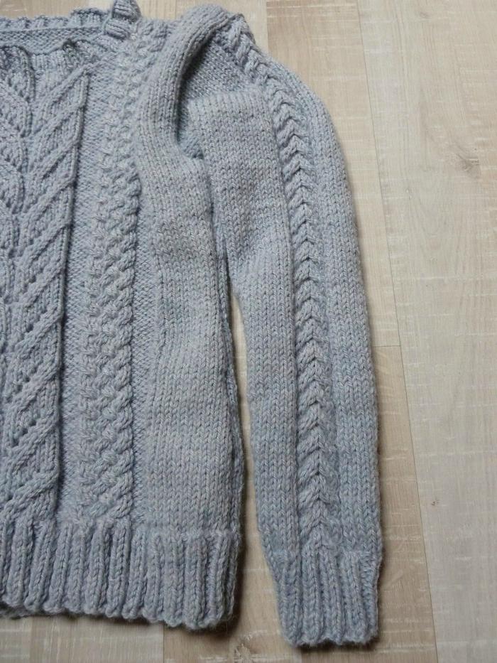 tuto tricot manche