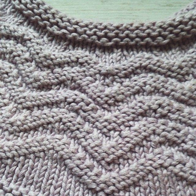 tuto tricot motif zigzag